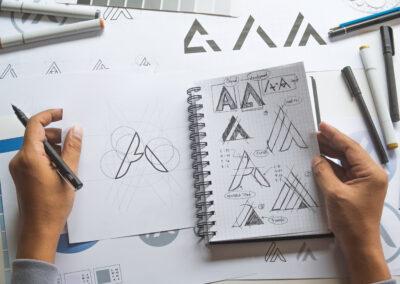 We also create and design custom company logos